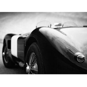 Glass picture vintage car 90cm x 150cm