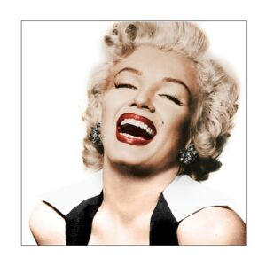 Glass picture Marilyn Monroe 120cm x 120cm