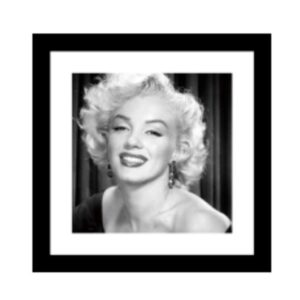 Glass picture w/frame Marilyn Monroe no.3 60 cm x 60cm