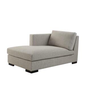 Modulsofa chaise lounge 95x161x74 left lin Kalk