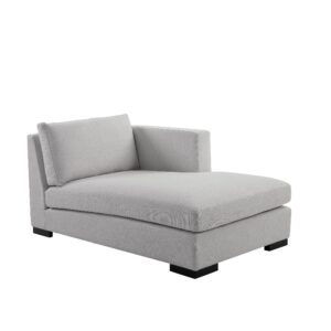 Modulsofa chaise lounge 95x161x74 right lin Sand