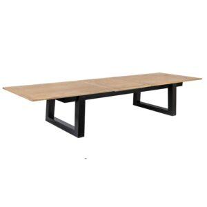 Spisebord Haag natur heltre eik B: 260, D:100, H:75+1 x 70cm