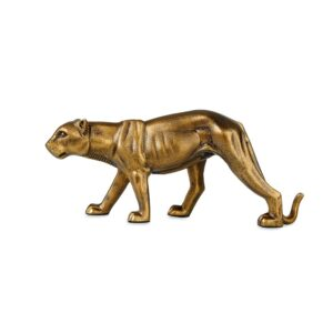Decorative Panter iron Brass 38cmx15cm