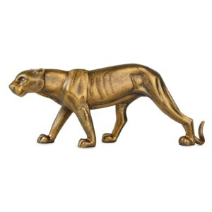 Decorative Panter iron Brass 50cmx21cm