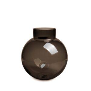 Glass kule Halifax brown Ø21cm H22cm