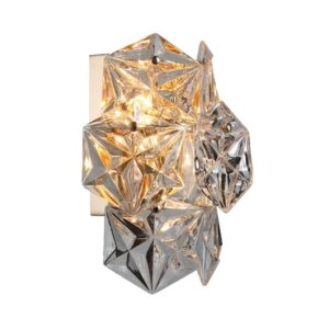 Vegg lampe Krakow krystall B23xD15xH26CM