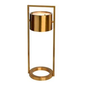 Bordlampe Hollywood Gold Ø22,5xH60cm