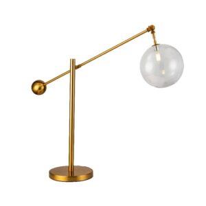 Bordlampe McAllan B80cm D20cm H65-110cm gold