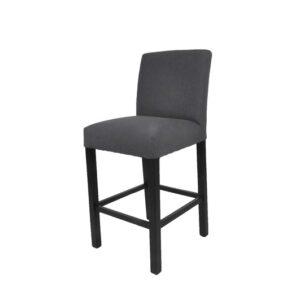 Bar stol Wien mørk grå B50 D48 H102 SH67