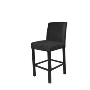 Bar stol Wien velor Black B50 D48 H102 SH67