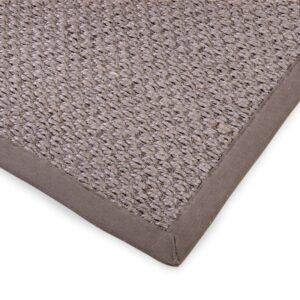 Sisal teppe taupe 300x400cm med kanting