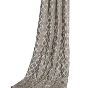 Gardinhøyde 140cm x 240cm 15cm rynkebond m/fòr Austen Silver