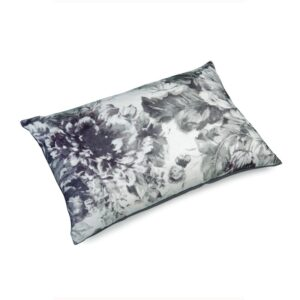 Pute 40×60 Lin Flower Gray inkl. innmat dun fjær