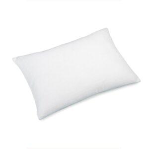 Pute 40×60 Lin White inkl. innmat dun fjær