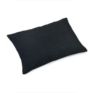 Pute 40×60 Lin Black inkl. innmat dun fjær
