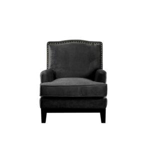 Stol Warshington B74 D86 H93 Velour Black