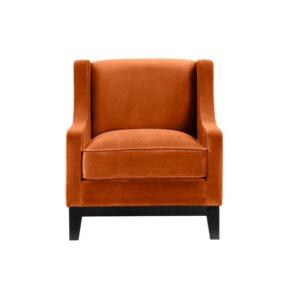 Stol Houston B75 D60 H80 velour Orange