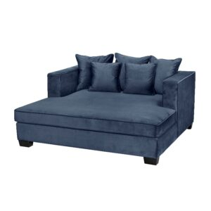 Daybed Vancouver B175 *D165*H77 Velour Petroleums Blue