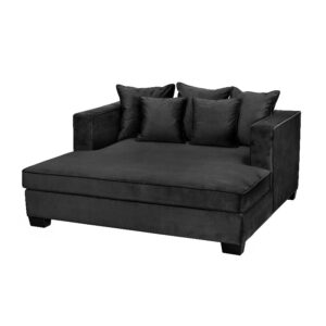 Daybed Vancouver B175 *D165*H77 Velour Black