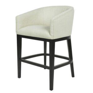 Bar stol Essex m/armlene Lin Sand H102cm B57cm SH67cm