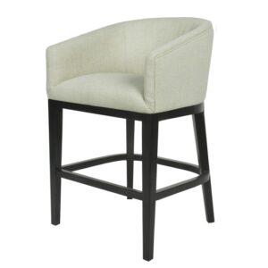 Bar stol Essex m/armlene Lin Kalk H102cm B57cm SH67cm