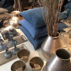 Mille Moi Handcrafted/Handbanket vase Gold