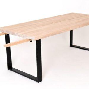 Oxford Street Spisebord – (240/340X100 Hvitoljet heltre eik)